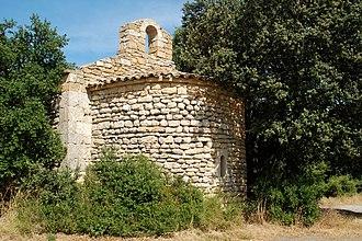 Alleins - Image: Chapelle Saint Jean d'Alleins 1