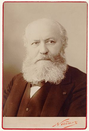Charles Gounod - Charles Gounod, photograph by Nadar (1890)