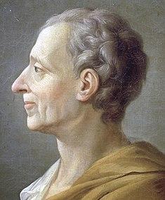 Montesquieu en 1728 (peinture anonyme) musée national du château et des Trianons