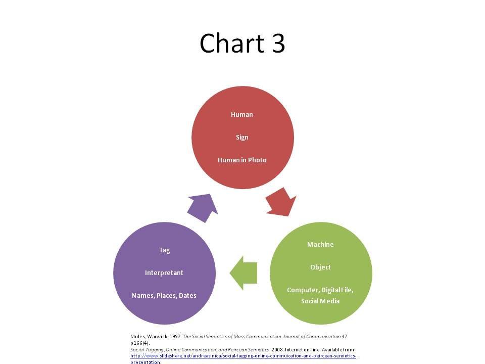 Chart Semiotics of Social Networking