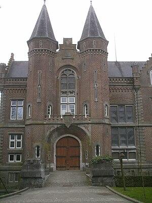 Estaimpuis - Image: Chateau Estaimbourg