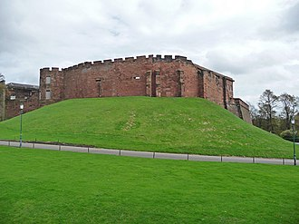 Listed buildings in Chester Castle parish - Image: Chester Castle geograph.org.uk 1022086