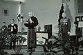 Chiang Kai-shek, Li Zongren and XGOA microphone 19480520.jpg