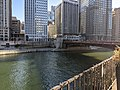 Chicago River dyed green for St. Patrick's Day 2.jpg