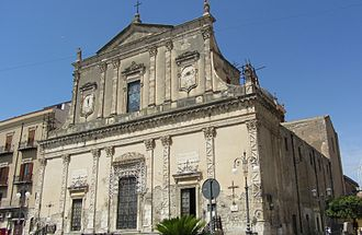 "Casteltermini - Chiesa Madre (""Mother Church"")."