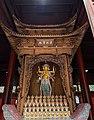 Chinese shrine to a statue of Marici (摩利支天 Molizhitian) in Zhongtianzhu Fajing Temple ( 中天竺法淨寺) in Hangzhou, Zhejiang, China.jpg