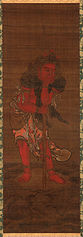 Seitaka-doji, attendant to the Buddhist Deity, Fudo Myo-o