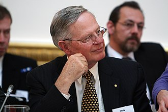 Chris Barrie (admiral) - Barrie at the Climate Security Conference in London, March 2012.