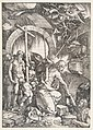 Christ in Limbo, from The Large Passion, edition 1511 MET DP816605.jpg