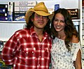 Christian Kane and Amy Acker Aug 2004.jpg