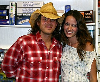 Christian Kane - Kane with Amy Acker at a signing in Santa Barbara