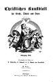 Christliches Kunstblatt für Kirche, Schule und Haus, Titelblatt, 1858.jpg