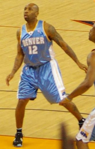Chucky Atkins - Atkins with the Denver Nuggets in 2007.