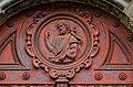 Church St-Jean-Baptiste au Beguinage, main gate detail.jpg