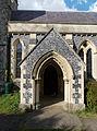 Church of the Holy Cross, Goodnestone - south porch 01.jpg