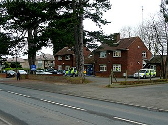 Innsworth - Churchdown and Innsworth police station