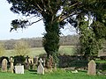 Churchyard, St Michael's and All Angels Church - geograph.org.uk - 1218016.jpg