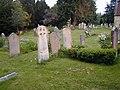 Churchyard ,All Saints Steep - geograph.org.uk - 463204.jpg