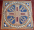 Cimitero dall'antella, cappella di san michele arcangelo, decori della manifattura chini, 1927, 04.JPG