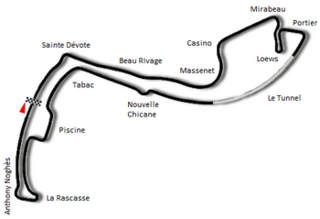 1986 Monaco Grand Prix Formula One motor race held in 1986