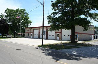 Cisco, Illinois - Cisco Fire Station