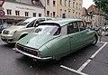 Citroen DS Super Old blue dutch plate (28561676927).jpg