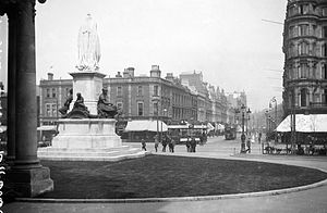 Belfast - Donegall Square in the early 1900s