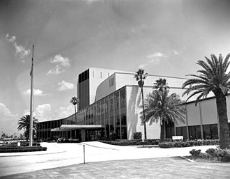 Times-Union Center for the Performing Arts - Civic Auditorium in 1969.