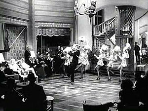 "Idiot's Delight (film) - Clark Gable singing and dancing to Irving Berlin's ""Puttin' on the Ritz"""