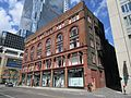 Classy old building, NE corner of Yonge and Shuter, across from the Eaton's Centre, 2017 05 14 -a (33862495803).jpg