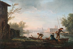 Four Times of the Day (Joseph Vernet) - Image: Claude Joseph Vernet The four times of day Morning Google Art Project