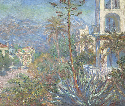 Claude Monet - Villas at Bordighera - Google Art Project