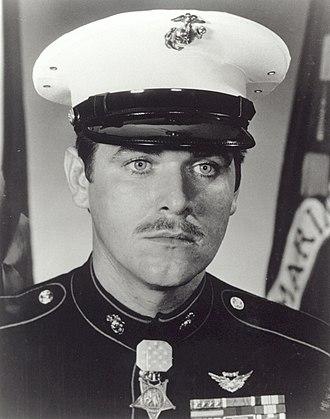Raymond M. Clausen Jr. - Image: Clausen RM USMC