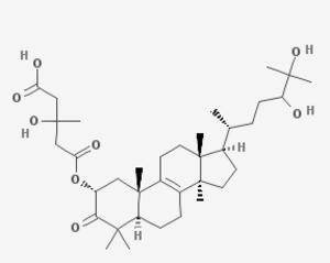 Clavaric acid - Image: Clavaric acid