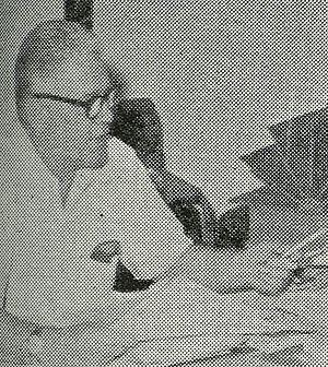 Radio Ceylon - Clifford R. Dodd, Director of the Commercial Service of Radio Ceylon, who came to the island under the Colombo Plan pictured here in 1958.