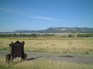 National Register of Historic Places listings in Colfax County, New Mexico - Image: Clifton House site NM USA