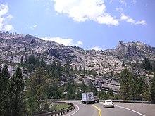 U S  Route 50 in California - Wikipedia