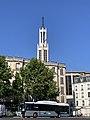 Clocher Église Ste Agnès Maisons Alfort 1.jpg