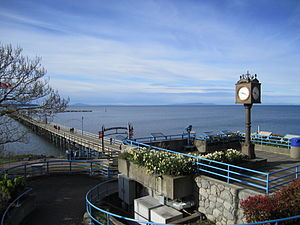 White Rock, British Columbia - Clock and lookout platform