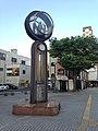 Clock tower on northeast side of Tanga Police Box Crossroads.jpg