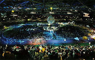 2000 Summer Olympics closing ceremony - Image: Closing ceremony 1