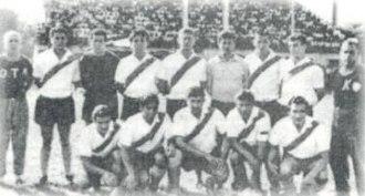 Club Luján - The 1963 team that won a title for the club.