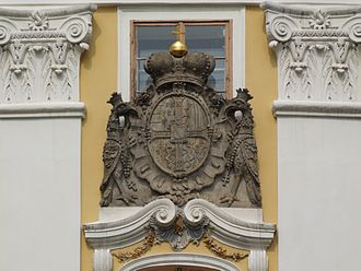 Prince Charles Alexander of Lorraine - Coat of arms of Charles Alexander of Lorraine as Grand Master of the Teutonic Order