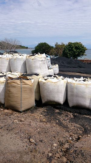 Ludewa District - Coal minining in Ludewa District near Lake Nyassa