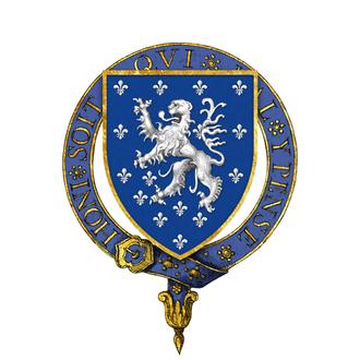 Thomas Holland, 1st Earl of Kent - Arms of Sir Thomas Holland, KG
