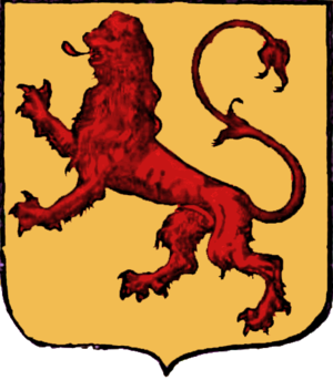 Partition of Babylon - Alexander's Coat of Arms (attributed)