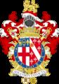 Coat of arms of Algar Howard, Garter.png