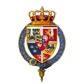 Coat of arms of Prince George of Denmark, Duke of Cumberland, Consort to Queen Anne of Great Britain.png