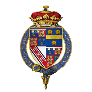 Edmund de la Pole, 3rd Duke of Suffolk - Arms of Sir Edmund de la Pole, 3rd Duke of Suffolk, KG