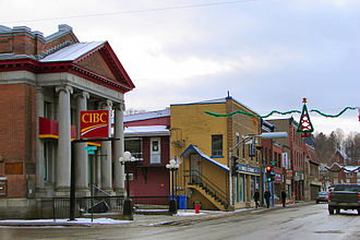 Coaticook - Main Street
